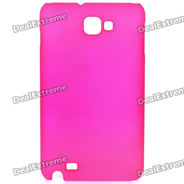 Protective ABS Back Case for Samsung Galaxy Note i9220 GT-N7000 - Deep Pink mhl docking station for samsung galaxy note i9220 black silver