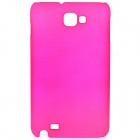 Protective ABS Back Case for Samsung Galaxy Note i9220 GT-N7000 - Deep Pink