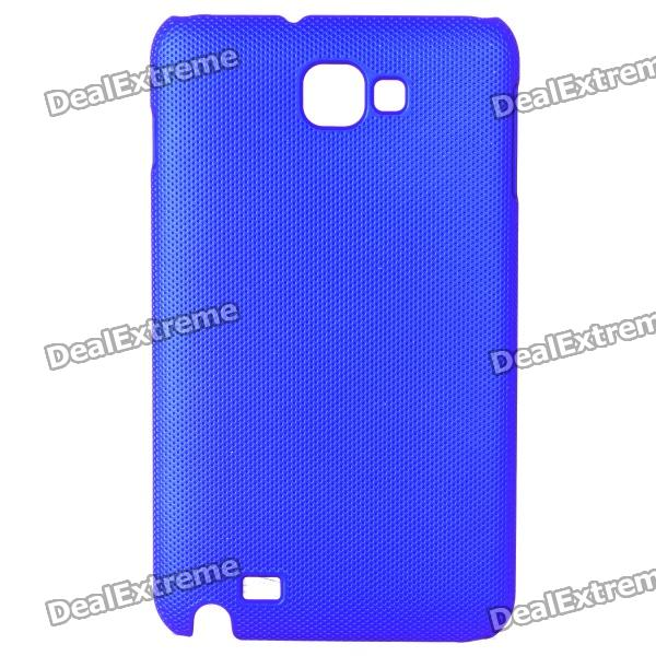 Protective ABS Back Case for Samsung Galaxy Note i9220 GT-N7000 - Blue protective leather case screen protectors for samsung galaxy note i9220 gt n7000
