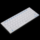 Rapoo Bluetooth V3.0 Rechargeable 80-Key Keyboard for Android 3.0 Smartphone / Tablet PC - White