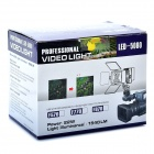22W 6000K 1540LM 8-LED White Light Video Lamp with Filters for Camera/Camcorder