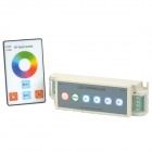 108W 3-Channel RGB Controller w/ RF Touch Remote Control for LED Light Strip - Grey (DC 12V)
