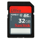 Genuine Sandisk Class 10 SDHC Memory Card - 32GB