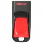 SanDisk Cruzer Edge USB Flash Drive - Black + Red (32GB)