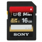 Genuine Sony UHS-I CLASS10 SDHC Memory Card - 16GB