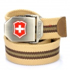 Outdoor Thicken Tough Operator Belt - Khaki