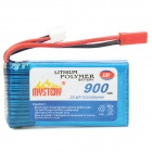 Mystery 7.4V 900mAh 15C Lithium Polymer Rechargeable Battery for R/C Helicopters