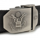 Outdoor The United States Air Force Eagle Logo Tough Tactical Operator Belt - Black