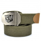 Outdoor-Transformers Logo Thicken Tough Tactical Operator Gürtel - Army Green