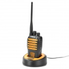 CHIERDA CD-528 5W 400~470MHz 16-CH Walkie Talkie - Yellow + Black