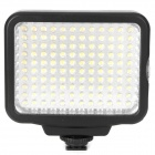 9W 120-Lâmpada LED luz branca de video com filtro para camera de filmar