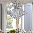 Elegant 6-light Chrome Crystal Chandelier (110~120V)