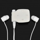 Designer's Bluetooth V2.0+EDR Stereo Handsfree Headset - White (4 Hours-Talk / 60 Hours-Standby)