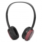Rapoo 2.4GHz Wireless Headset Headphone with Microphone - Deep Red + Black