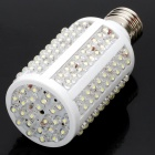 E27 10W 1000-1200LM 6000-7000K 168-LED White Corn Light Bulb (12V)