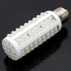 E27 7.2W 700-850LM 6000-7000K 120-LED White Corn Light Bulb (12V)