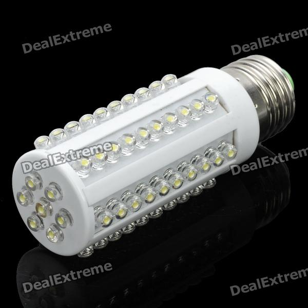 E27 4W 7000K 480LM 67-LED Whit Light Bulb (220V) - DXE27<br>Emitter Type: LED Total Emitters: 67 Power: 4W Color BIN: White Rated Voltage: AC 220V Luminous Flux: 380~480LM Color Temperature: 6000~7000K Connector Type: E27<br>