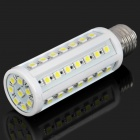 E27 10W 600-750LM 6000-7000K White 50-SMD 5050 LED Light Bulb (220V)