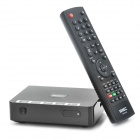 Full HD 1080P Network Media Player w/ LAN / HDMI / 2 x USB - Black (DDR2 256MB/2GB Nand Flash)