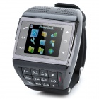 "Watch Style ET-1T GSM Touch Phone w/ 1.5"" Resistive, Single SIM, Quad Band and FM - Black"