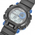 Sports Diving Wrist Watch w/ EL Backlit / Week / Stopwatch / Alarm Clock - Blue (1 x CR2025)