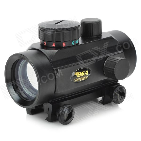 BSA 1*30 Reflex Laser Sight Rifle Scope (Red + Green Laser Configurable)
