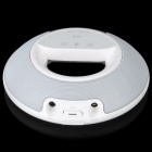 Portable Bluetooth V2.1+EDR Stereo Speaker - White