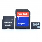 Genuine Sandisk Micro SD/TF Card with SD Card Adapter (32GB)