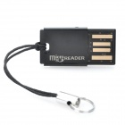 Genuine Kingston Micro SD/TF Card Reader - Black