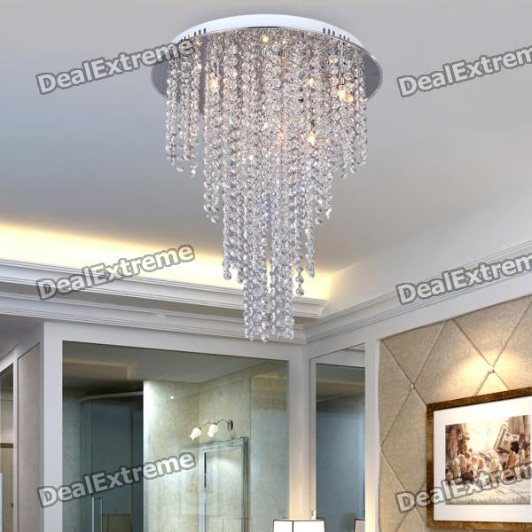Luxuriant Flush Mount with 6 Lights in Crystal (220-240V) hand knitting cany art chimney droplight contracted and contemporary dining room creative personality study cafe droplight
