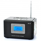 "Multi-Function Docking Station Speaker MP3 Player with FM / SD / USB for iPod - Black (1.7"" LCD)"