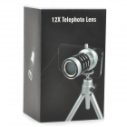 Detachable 12X Telephoto Lens Set for iPhone 4
