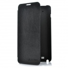 Designer's Protective Flip Cover Case for Samsung GALAXY NOTE I9220/GT-N700 - Black