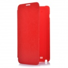 Designer's Protective Flip Cover Case for Samsung GALAXY NOTE I9220/GT-N700 - Red