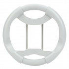 Plastic Racing Wheel Controller for Xbox 360 - Light Grey