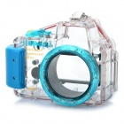 Meike Waterproof Diving Mini Digital Camera Case for Sony NEX3 - Blue (40m Underwater)