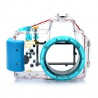 Meike Waterproof Diving Mini Digital Camera Case for Sony NEX5 - Blue (40m Underwater)