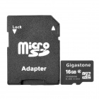 Genuine Gigastone Micro SDHC / TF Card (16GB / Class 4)