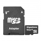 Genuine Gigastone Micro SDHC / TF Card (16GB / Class 6)