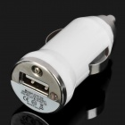 Car Cigarette Powered Charger for iPhone - White
