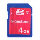 Gigastone SDHC Memory Card (Class 6 / 4GB)
