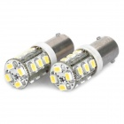 BB9+ 1W 6500K 110-Lumen 16-3020 SMD LED White Light Lamps (DC 12~24V / Pair)