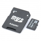 Gigastone TF / MicroSDHC Card with SD Adapter (32GB / Class 4)