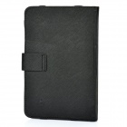 "Protective PU Leather Carrying Case for 7"" Tablet - Black"