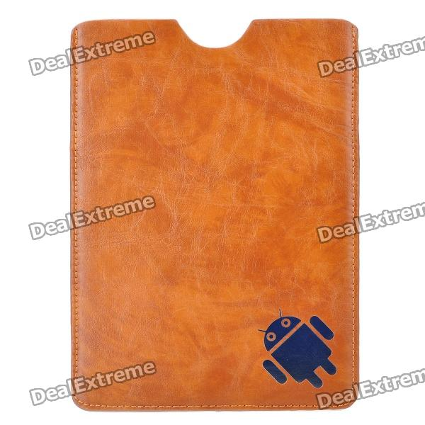 "Universal Protective PU Leather Case Cover for 7"" Tablet PC - Brown"