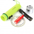 ART-NR CL3197 3W LED 1-Mode 120LM White LED Diving Flashlight w/ Strap & Charger (1 x 18650)