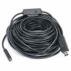 Waterproof USB 2.0 CMOS 300KP 4-LED Illuminated Snake Camera Endoscope (20M-Length)