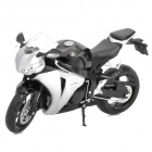 1:12 Honda CBR1000RR Model Motorcycle for Display / Collection - Black + Silver