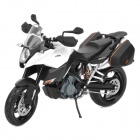 1:12 KTM990 Model Motorcycle for Display / Collection - Black + White