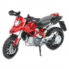 1:12 Ducati Hypermotard Model Motorcycle for Display / Collection - Black + Red